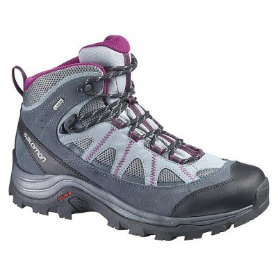サロモン レディース シューズ・靴 ブーツ【Salomon Authentic LTR GTX Boot】Pearl Grey / Grey Denim / Mystic Purple