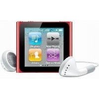 アップル 第6世代 Apple iPod nano (PRODUCT) RED 8GB レッド MC693J/A