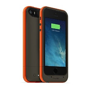 mophie 2100mAh Juice Pack Plus Outdoor Edition for iPhone 5/5S/SE - Gray/Orange [並行輸入品]