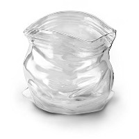 Fred and Friends UNZIPPED Hand-Blown Glass Bowl [並行輸入品]