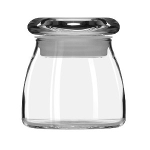 Libbey Spice Jar with Lid, 4.5-Ounce, Clear, Set of 12 [並行輸入品]