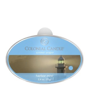 Colonial Candle Harbor Mist Simmer Snaps [並行輸入品]