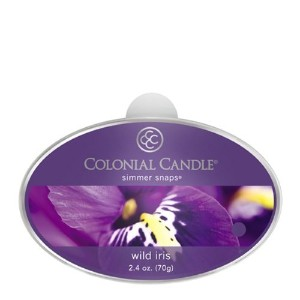 Colonial Candle Wild Iris Simmer Snaps [並行輸入品]