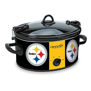 Crock-Pot Pittsburgh Steelers NFL Cook & Carry Slow Cooker [並行輸入品]