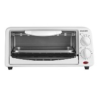 Courant TO-621W 2 Slice Compact Toaster Oven with Bake Tray and Toast Rack, White [並行輸入品]