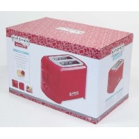 Kitchen Selectives Cool-Touch 2 Slice Toaster (Red) [並行輸入品]