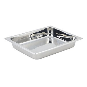 Bon Chef 20301FP Extra Food Pan for 3-1/2 quart Small Square Stainless Steel 18/10 Mini Induction...