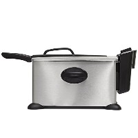 BELLA 13401 3.5L Deep Fryer, Stainless Steel [並行輸入品]
