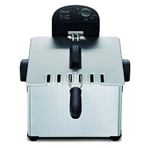 T-fal FR3900 Triple Basket Deep Fryer with Stainless Steel Removable Pot and Professional Heating...