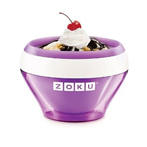 Zoku Purple Ice Cream Maker, Instant Ice Cream Maker [並行輸入品]