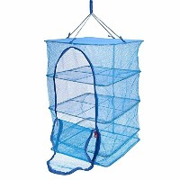 Food Dehydrator 3 Tray Hanging Drying Net / Non Electric / For Drying Herbs , Fruits , Vegetables ,...
