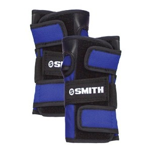 Smith Safety Gear Scabs Wrist Guards, Blue, Large [並行輸入品]