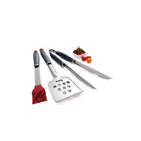 GrillPro 40035 3-Piece Stainless Steel Tool Set [並行輸入品]