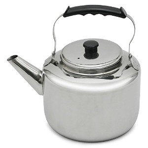Lindy's 47444 Stainless Steel Water Kettle, 7-Quart, Silver [並行輸入品]