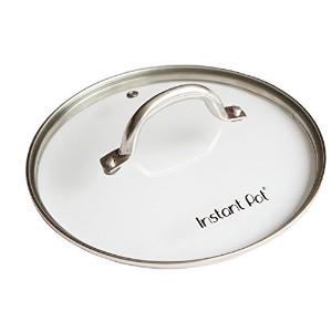 Instant Pot Tempered Glass Lid for Electric Pressure Cookers, 9', Stainless Steel [並行輸入品]