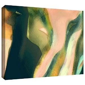 ArtWall Dean Uhlinger 'Geometry Rising' Gallery-Wrapped Canvas Wall Art, 14 by 18-Inch [並行輸入品]