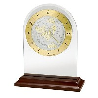 Howard Miller 645-603 World Time Arch Table Clock by [並行輸入品]