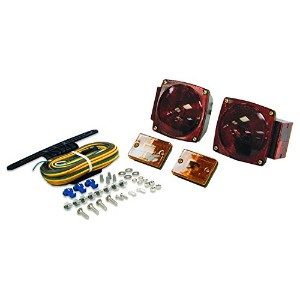 Blazer C6423 Square Trailer Light Kit - Red [並行輸入品]