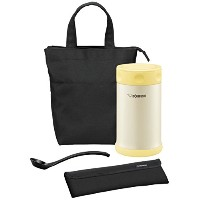 Zojirushi SW-FBE75YP Stainless Steel Lunch Jar, 25-Ounce, Pearl Yellow [並行輸入品]