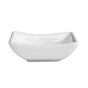 Fortessa Fortaluxe Vitrified China Dipping Boat, 3.5-Inch, Set of 6 [並行輸入品]