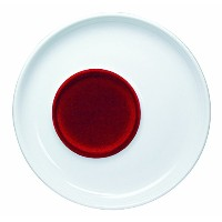 KAHLA Touch Saucer 4-1/4 Inches, Red Velvety Color, 1 Piece [並行輸入品]