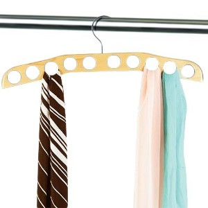 Whitmor 6026-738 Natural Wood Collection Scarf Hanger by Whitmor [並行輸入品]