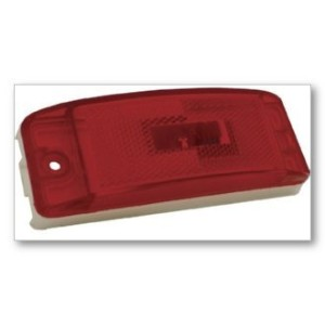 Grote 47352 Red SuperNova Sealed Turtleback II LED Clearance Marker Light [並行輸入品]