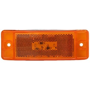 Grote G2103 Hi Count Yellow Turtleback II LED Clearance Marker Light [並行輸入品]