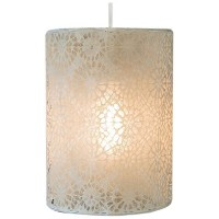 Heritage Lace Nova 10-Inch by 14-Inch Round Lamp Shade, Cafe [並行輸入品]