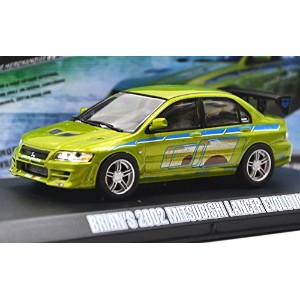 "GREENLIGHT 1:43scale ""FAST & FURIOUS 2"" ""BRIAN'S 2002 MITSUBISHI LANCER EVOLUTION Ⅶ""  グリーンライト 1..."