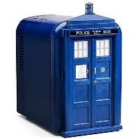 Blue Tardis Mini Fridge ミニ冷蔵庫 Doctor Who社【並行輸入】