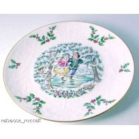 Royal Doulton Christmas Plate 1977 First of a Series