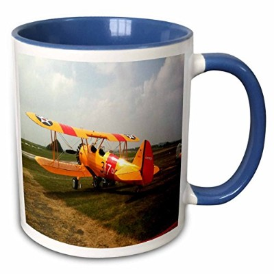 3dローズFlorene Transportation – The Stearman A Pre WWIIトレーナーAircraft – マグカップ 11 oz ホワイト mug_62316_6