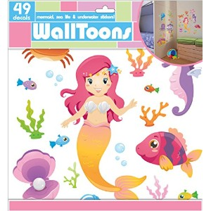 Edge Home Products Mermaid Walltoons Wall Sticker by Edge home