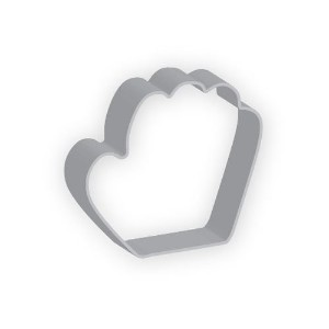 The American Cookie Cutter by Flavortools Baseball Glove Cookie Cutter, 4-Inch, Set of 12 [並行輸入品]