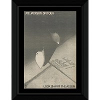 JOE JACKSON - Look Sharp! The Album Framed Mini Poster - 53x43cm