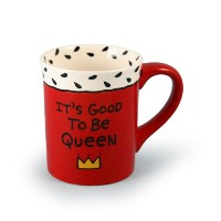 Our Name Is Mud by Lorrie Veasey Good to Be Queen Mug, 4-1/2-Inch by Enesco