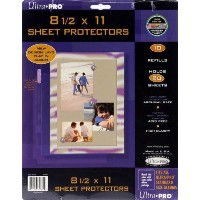 8.5-inch-by-11-inch Sheet Protector Album Refill Pages by Pinnacle Frames and Accents