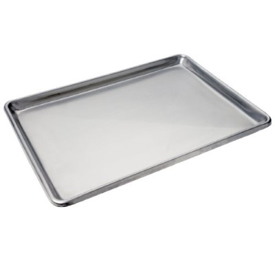 Focus Foodservice Commercial Bakeware Stainless Steel-Sheet Pan, 1/2-Sheet by Focus Foodservice
