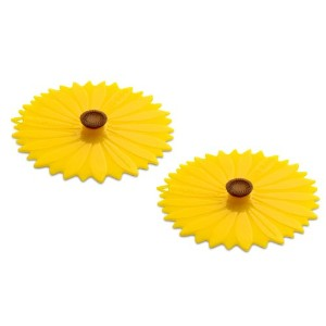 Charles Viancin Sunflower Drink Cover Set/2 by Charles Viancin