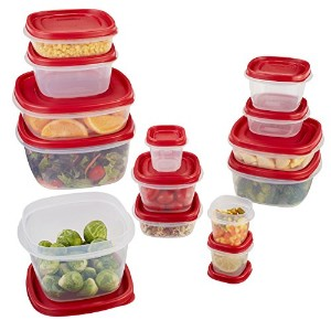 Rubbermaid Easy Find Lid Food Storage Set, Multiple, 28 Piece set by Rubbermaid