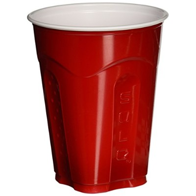 Solo Squared Red Cups, 18 Oz, 72 Count by SOLO Cup Company