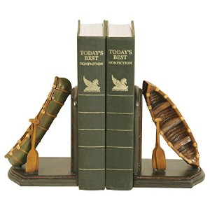 Sterling 91-4619 Composite Pair Camp Woebegone Bookends, 4 by 7-Inch [並行輸入品]