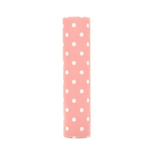 kaarskoker Polka Dot 4-Inch-by-7/8-Inch Candle Covers, Set of 2, Pink [並行輸入品]