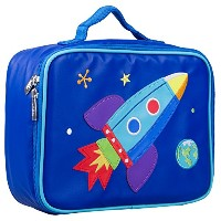 Olive Kids Rocket Embroidered Lunch Box by Olive Kids