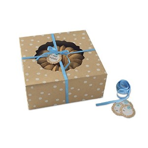 Nordic Ware Bake and Gift Kraft Paper Small Bundt Box, Multicolor by Nordic Ware