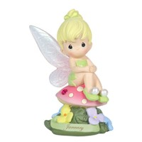 Precious Moments Disney Show Case Collection Collectible Figurine, January Fairy As Tinker Bell...