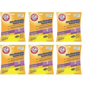 Hoover Type S Arm & Hammer Odor Eliminating真空バッグ – ケースof 18バッグ