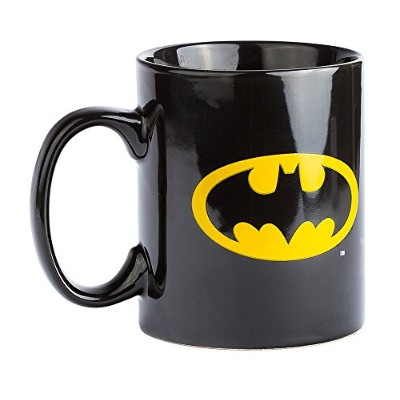 Dc Comics Batman Black Logo Printed Ceramic 11oz Mug