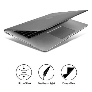 GMYLE [Quantum Light Case] [New Version] 13インチMacbook Air 向け超薄型傷つき防止カバー (Model: A1466 and A1369) -...